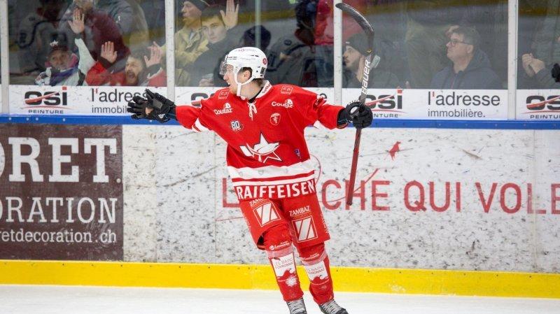 HCV Martigny: le coup du chapeau parfait pour Romain Seydoux