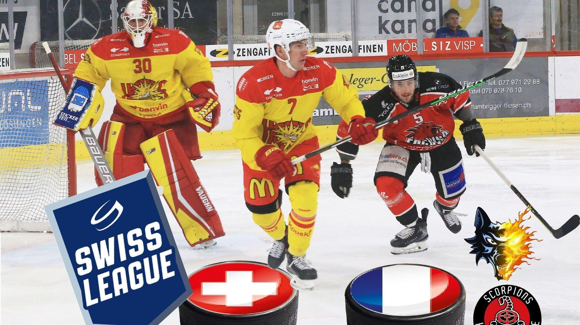 Hockey: pourquoi la Swiss League pourrait accueillir des équipes françaises