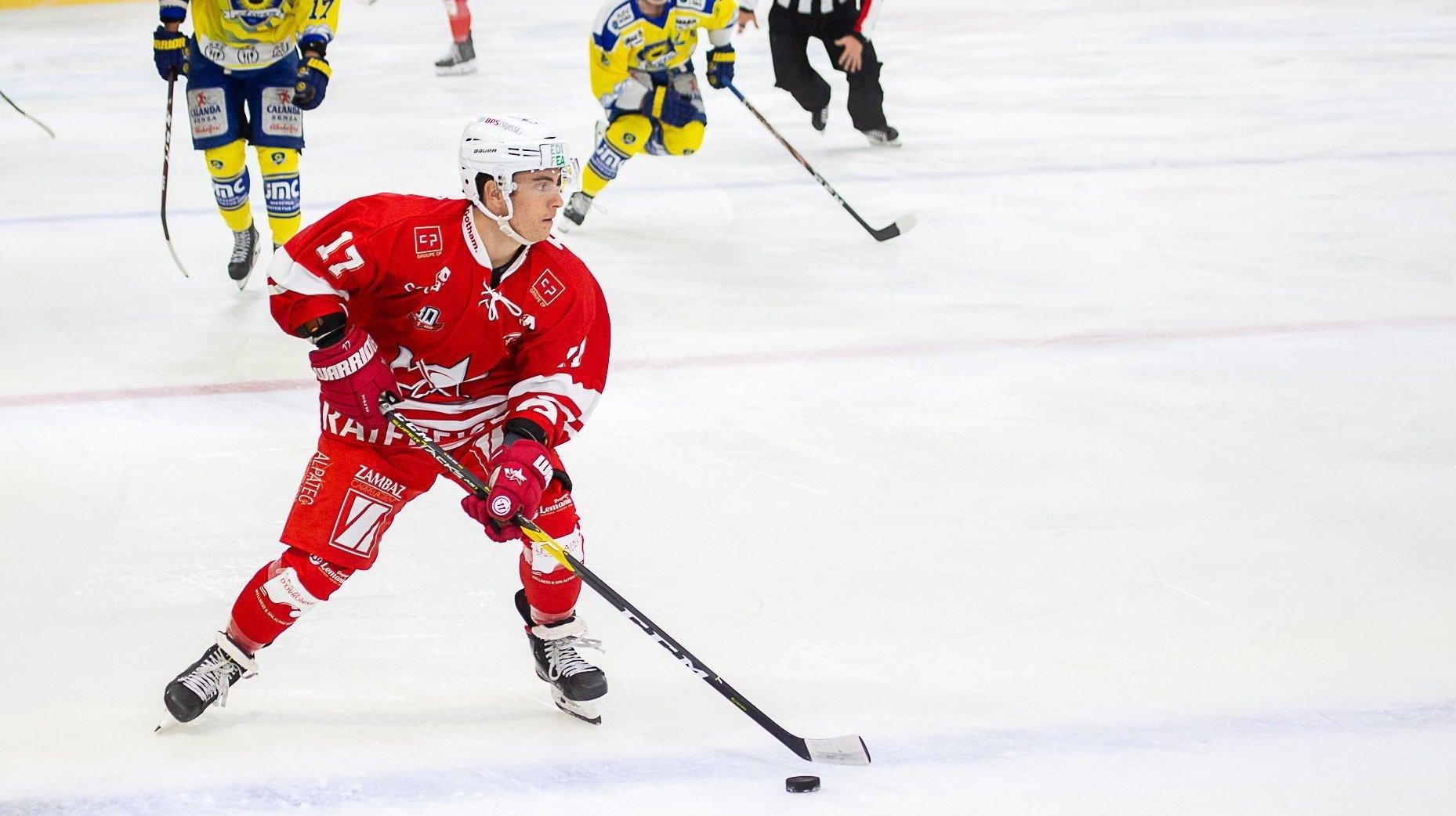 Hockey: le HCV Martigny se qualifie pour les quarts de finale de la Coupe nationale