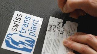Don d'organes sans consentement: le référendum est lancé