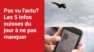 Les 5 infos à retenir dans l'actu suisse de ce mercredi 20 octobre