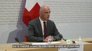 L'administration d'une 3ème dose encore entre les mains de Swissmedic