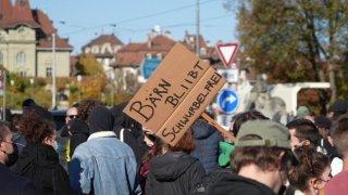 Berne: une centaine de personnes à une contre-manifestation