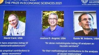 Nobel d'économie: un trio de spécialistes nord-américains des expériences sacré