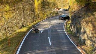 Un motard perd la vie sur la route du col du Nufenen