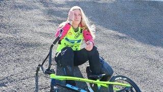 8 étoiles valaisannes (3/8): Amaëlle Caloz, pilote de BMX de Saillon