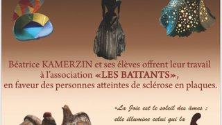 Exposition de céramiques caritative