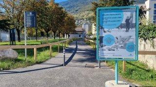 Monthey: nouveaux ateliers pour les quais de la Vièze