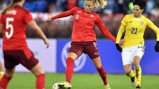 Football : une troisième victoire pour les Suissesses