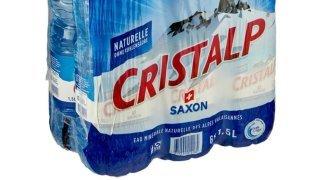 Saxon: l'eau Cristalp va disparaître