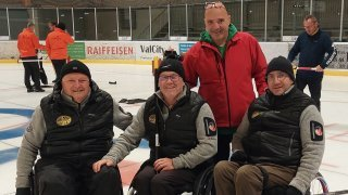 Handicap: le Curling-Club de Sion reçoit le premier prix Inclusion
