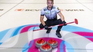 Baptiste Défago, le Valaisan qui se fait une place dans le monde du curling