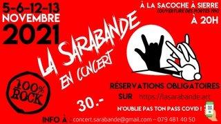 Concert de la Sarabande 100% ROCK