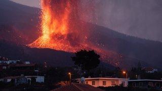 A la merci  du volcan