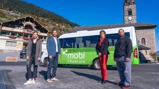 Le bus MobiChablais séduit 4 nouvelles communes