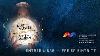 La Nuit des Musées du Valais - 6 novembre 2021