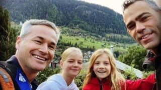 Rabais famille à Aletsch: famille arc-en-ciel mais famille quand même