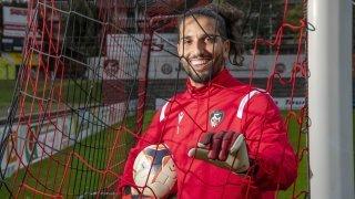 Steve Saffioti, le portier pilier du FC Monthey