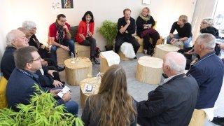 La rencontre des abonnés du «Nouvelliste» à la Foire: Anne-Laure Couchepin Vouilloz, présidente de la commune de Martigny