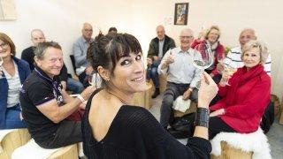 Foire du Valais: Marie Linder rencontre les abonnés du Nouvelliste