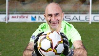 Football: Angelo Miccoli a joué au but de la une du FC Saint-Maurice à 50 ans