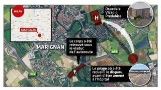 Disparu de Fully: il avait été hospitalisé en Italie