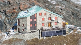 Cabane des Dix: récupérer une eau de pluie plus propre grâce à un nouveau toit en aluminium