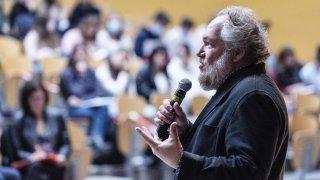 Sion: Mathias Enard, un prix Goncourt à la Planta