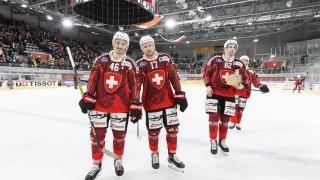Hockey: à Viège, la Suisse effectuera ses derniers tests avant les JO de Pékin