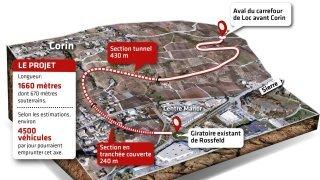 Le projet de contournement ouest de Sierre remis en question
