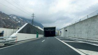 A9: les tunnels de Sierre et Tourtemagne seront fermés durant 3 nuits
