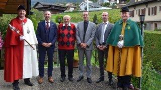 Choëx: Marius Udriot fête ses 100 ans