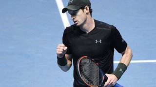 Andy Murray gagne à Londres