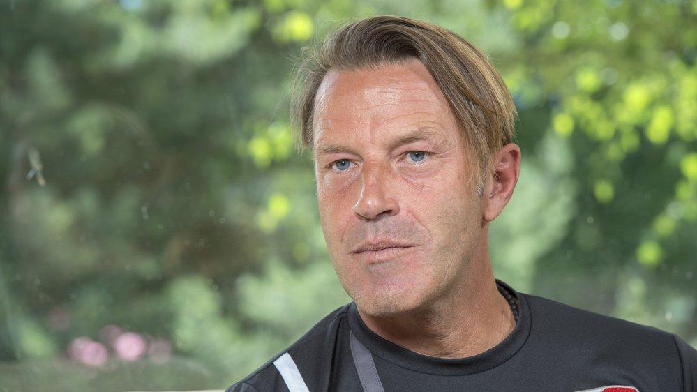 Paolo Tramezzani s'est prêté au jeu de l'interview avant la reprise du FC Sion.