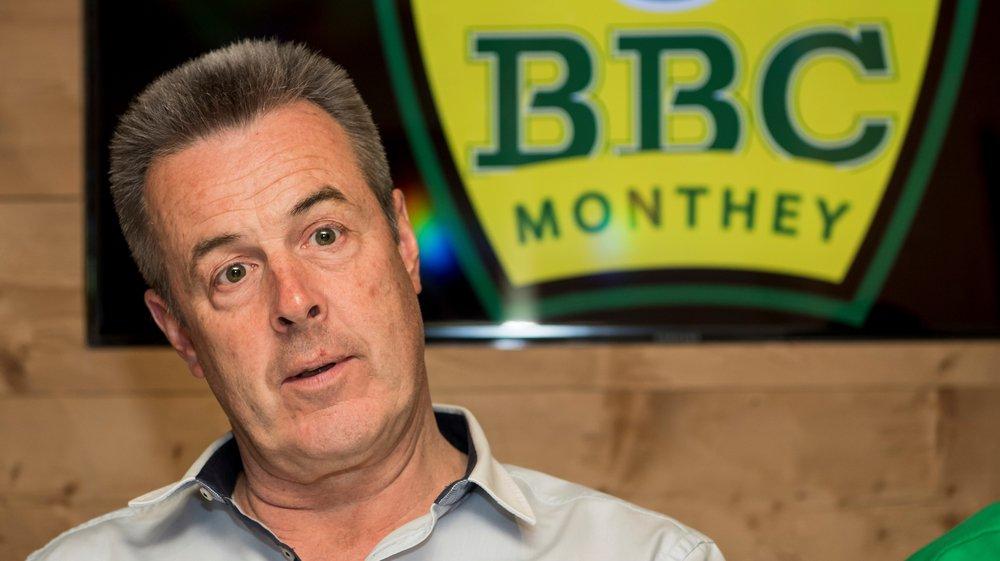 Christophe Grau et le reste du comité du BBC Monthey sont inquiets face au manque d'engouement pour reprendre le club chablaisien.
