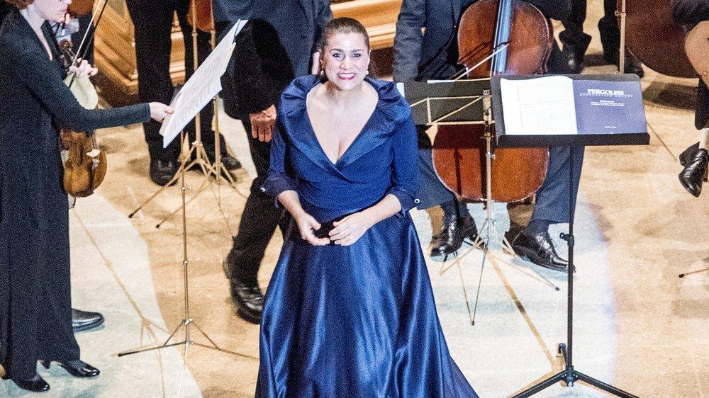 Cecilia Bartoli va revenir une 25e fois à la Fondation Pierre Gianadda  au mois de septembre.