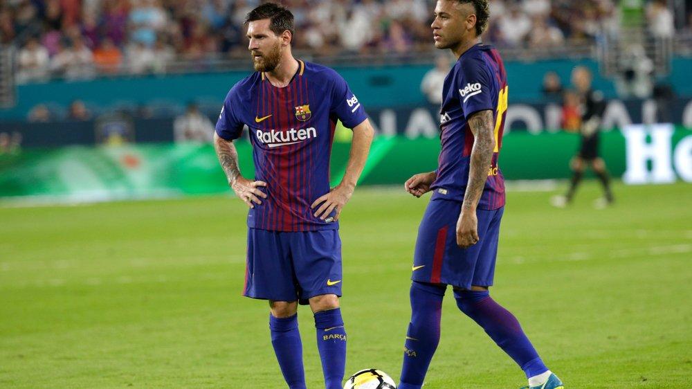 Messi-Neymar bientôt adversaires?