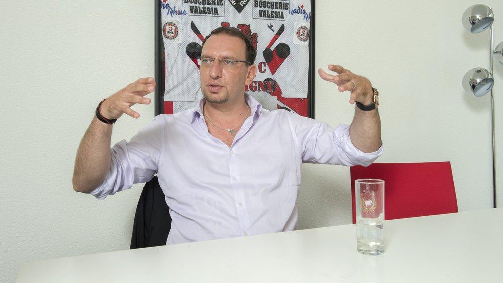 Le président du HC Martigny Red Ice, Mike Echenard, donne sa version des faits dans la faillite du club.