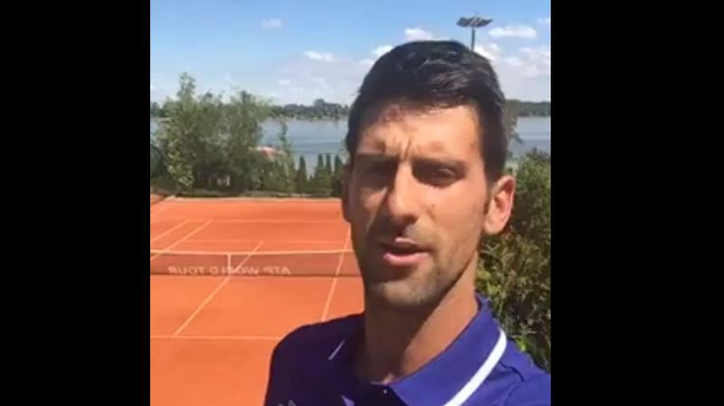 Tennis: Novak Djokovic met un terme à sa saison