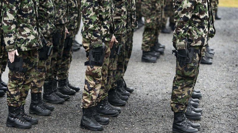 f7785a7d99f Armée Armée  près de 8 000 jeunes Suisses commencent leur école de recrue  ...