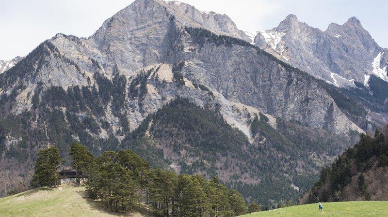 L'alpiniste a fait une chute mortelle en redescendant du Falknis.