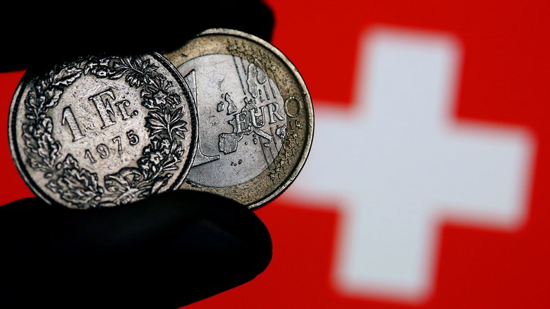 Pour la première fois depuis septembre 2016, l'euro repasse la barre de 1 franc 10