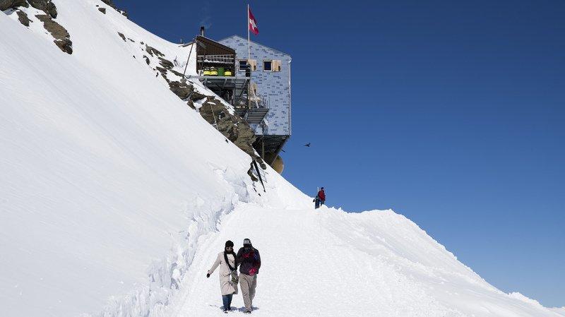 Montagne: deux alpinistes japonais ont perdu la vie en escaladant le versant valaisan du Mönch