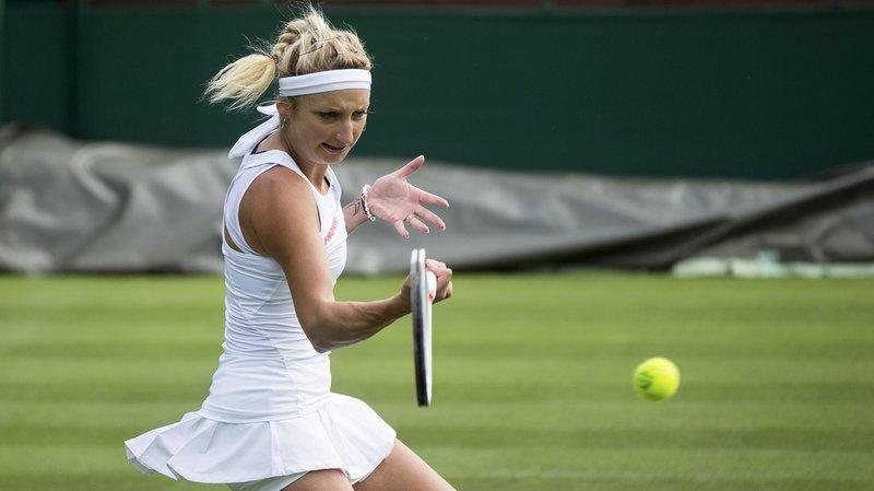 Wimbledon: Timea Bacsinszky passe le premier tour face à Monica Puig