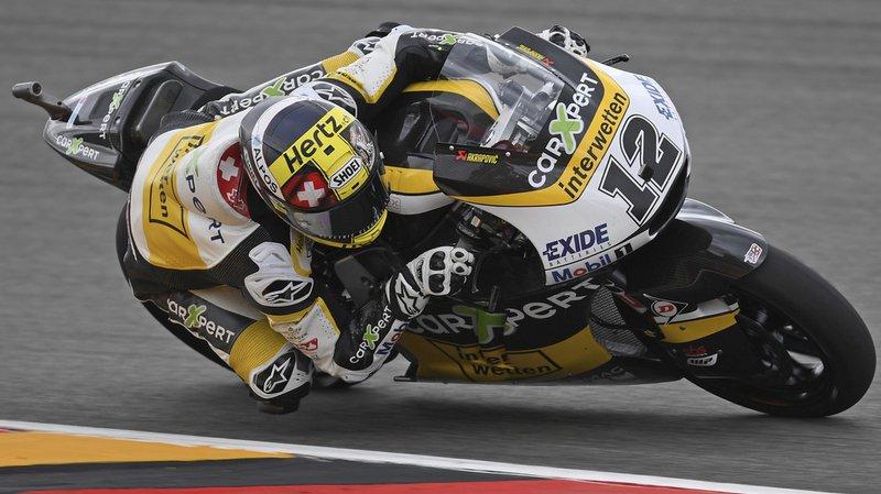 Grand Prix d'Allemagne: grosse déception pour Thomas Lüthi en Moto2
