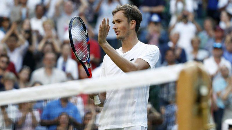Tournoi de Wimbledon: amendes pour Tomic et Medvedev