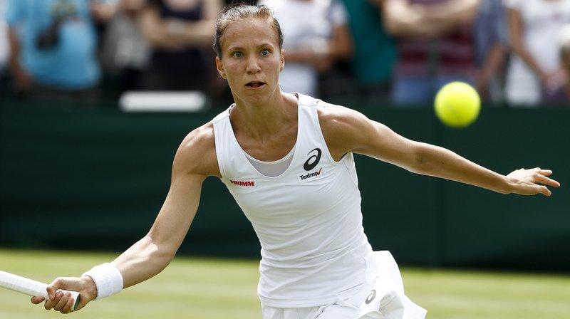 Wimbledon: la Suissesse Viktorija Golubic battue en trois sets