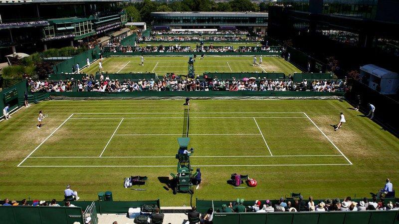 Les cours 14 à 17 du All England Lawn Tennis and Croquet Club.