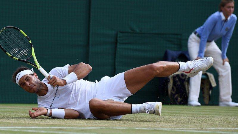 Rafael Nadal sorti par Gilles Muller en 8e de finale à Wimbledon