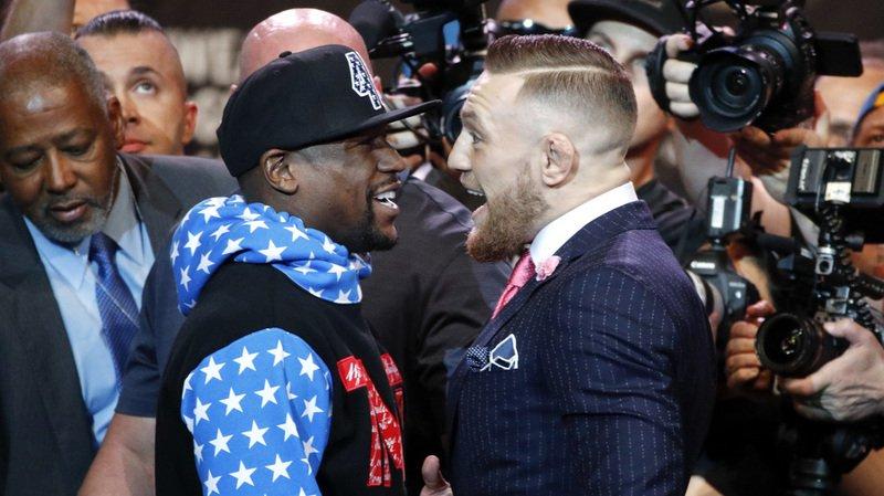 Boxe: le prix des billets du combat du siècle entre Mayweather et McGregor grimpe jusqu'à 9600 francs